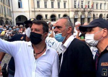 Ph. Pagina Fb di Matteo Salvini