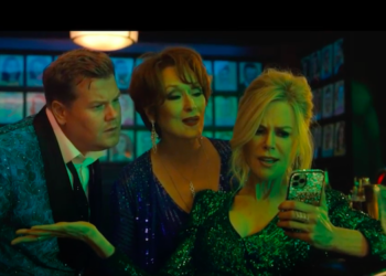 "Ph. Screenshot del trailer di ""The Prom"""