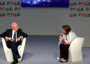 Screenshot video Fb De Luca